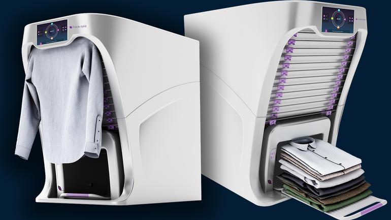 FoldiMate la máquina que dobla la ropa