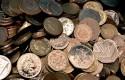 Money coins pound