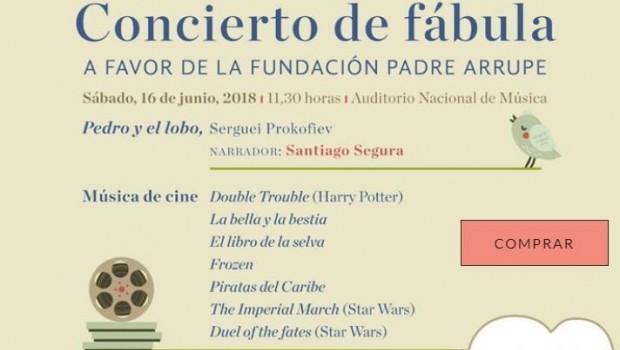 Fundaci n padre arrupe celebra hoy un concierto en madrid for Concierto hoy en santiago