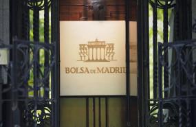 ep puerta de entrada al edificio de la bolsa de madrid