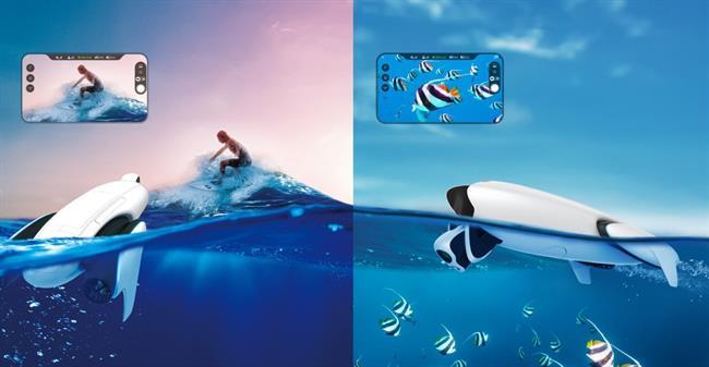 ep dron acuatico powerdolphin