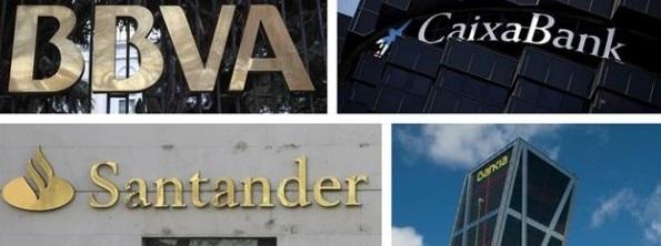 La banca española rebota junto al Ibex tras tres aciagas jornadas