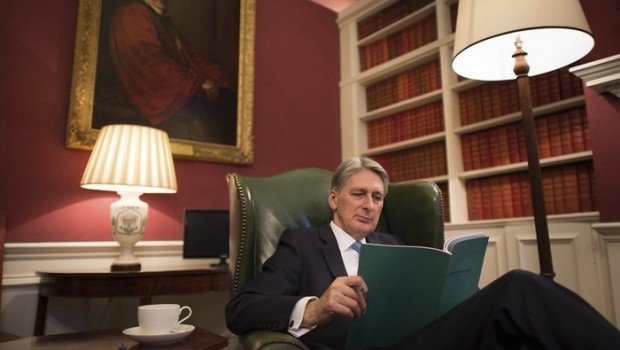 Boost for Philip Hammond as deficit drops to decade low in May
