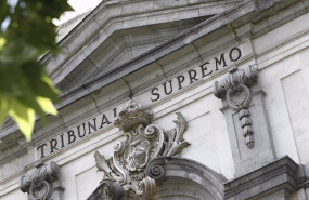 ep fachada de la sede del tribunal supremo