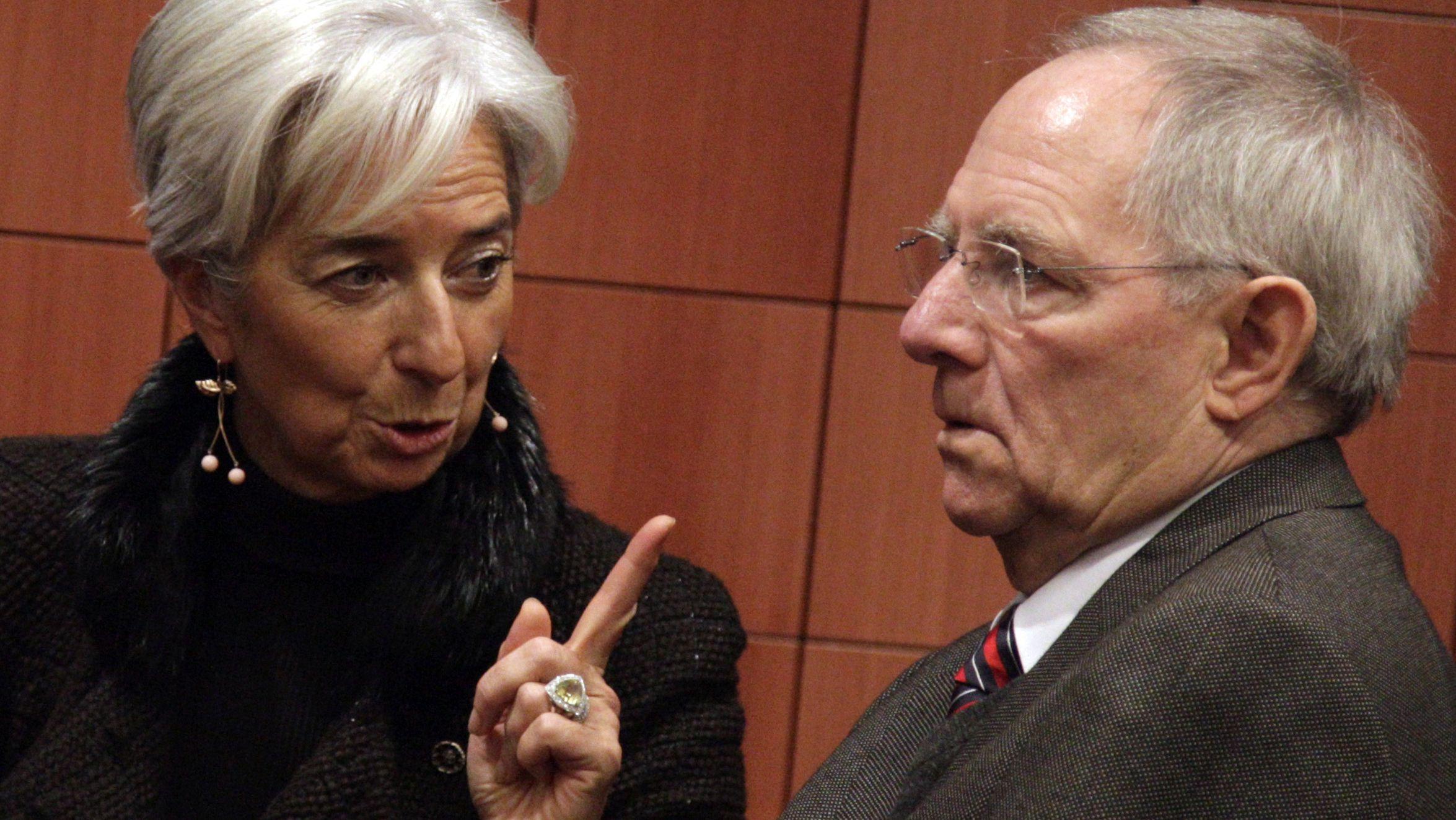 christine-lagarde-directrice-du-fmi-et-wolfgang-schauble-ministre-allemand-des-finances