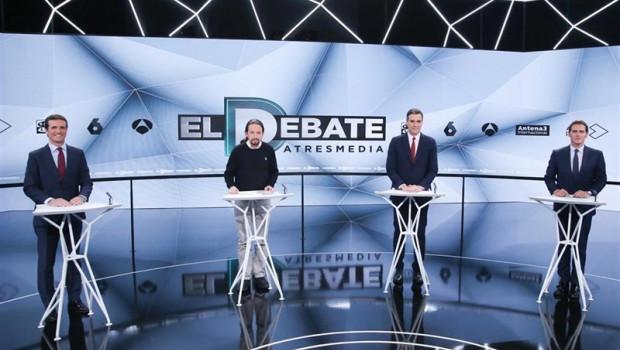 ep 28a- reaccionesdebate los partidos ensalzansus lideresvaloran que asomara la financiacion