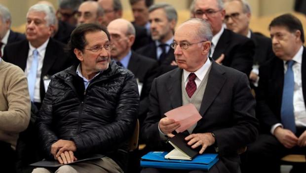 ep el expresidente de bankia rodrigo rato derecha junto al exconsejero de caja madrid jose antonio