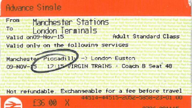 national rail ticket