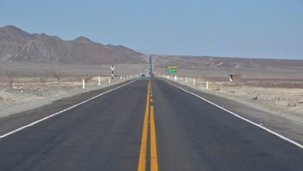 ep carretera panamericana en su paso por peru