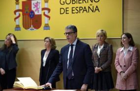 ep archivo - toma de posesion de roberto sanchez como nuevo secretario de estado de