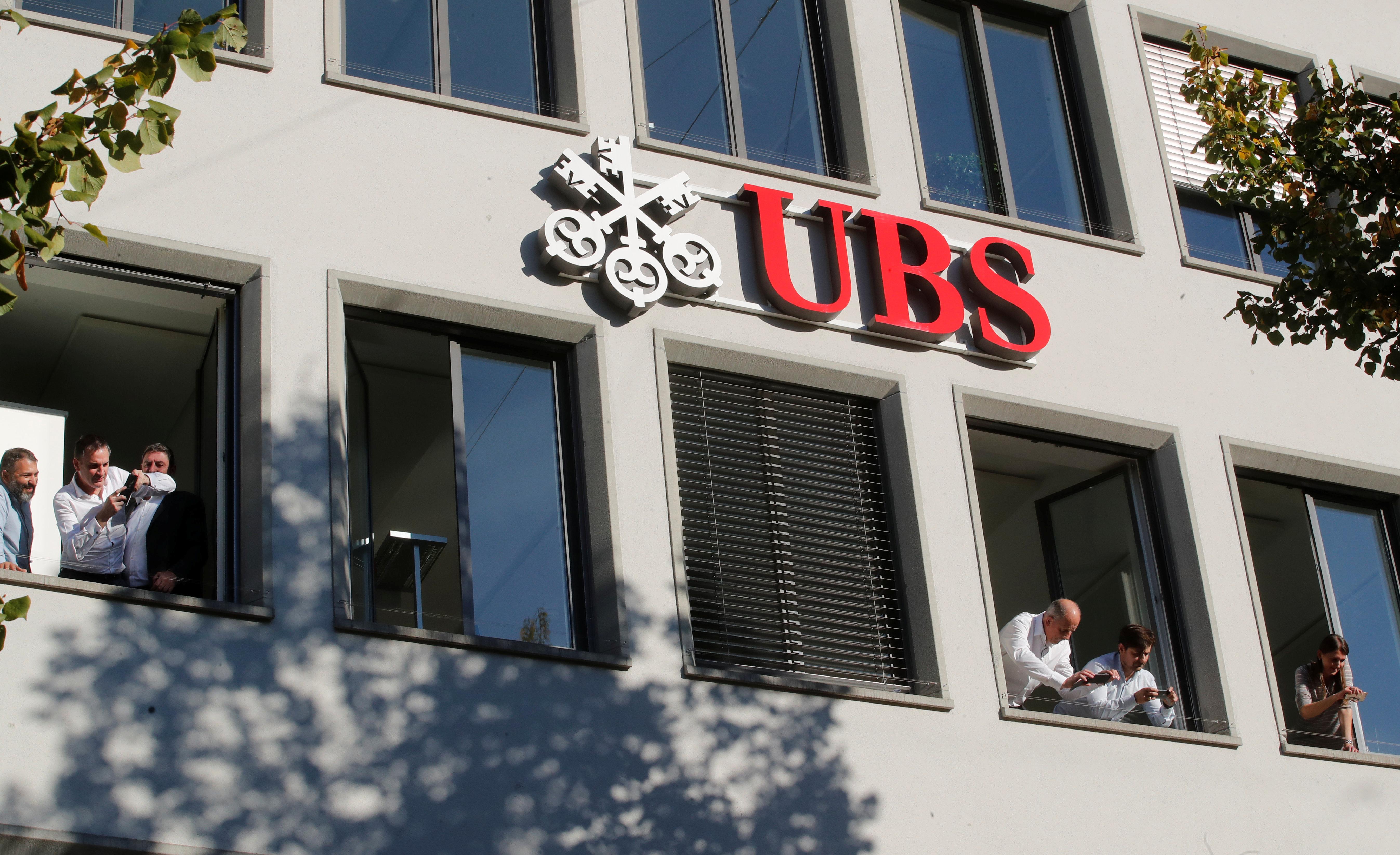 UBS cae un 5% en bolsa tras incumplir objetivos en 2019 y pese al buen resultado trimestral