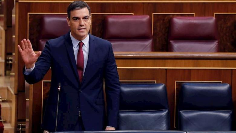ep el presidente del gobierno pedro sanchez durante la sesion de control al ejecutivo en el congreso