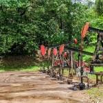 Nodding donkeys, pumpjacks, oil & gas, drilling