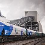 drax biomass train