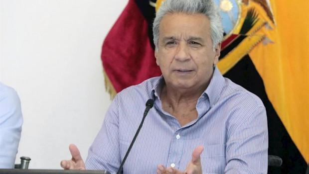 ep el presidente de ecuador lenin moreno