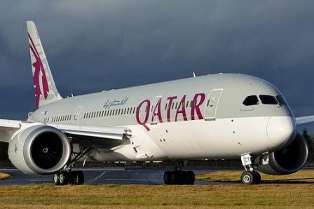 qatar airways chile ruta avion
