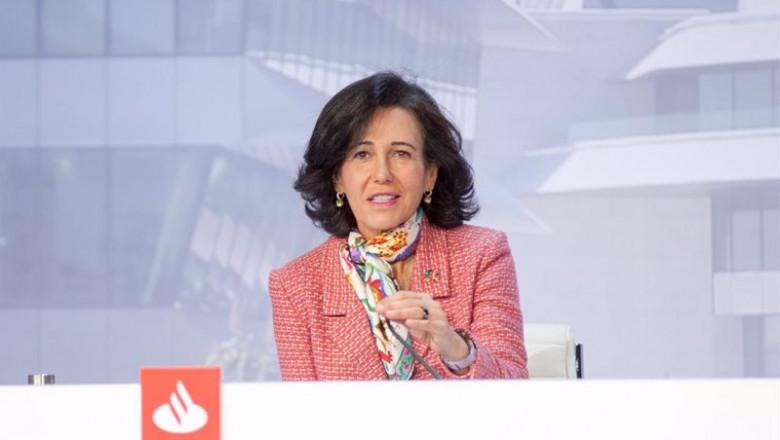 ep la presidenta de banco santander ana botin durante la junta general de accionistas de 2021