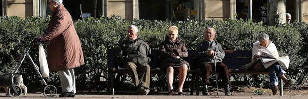 pensiones portada pensionista abuelos