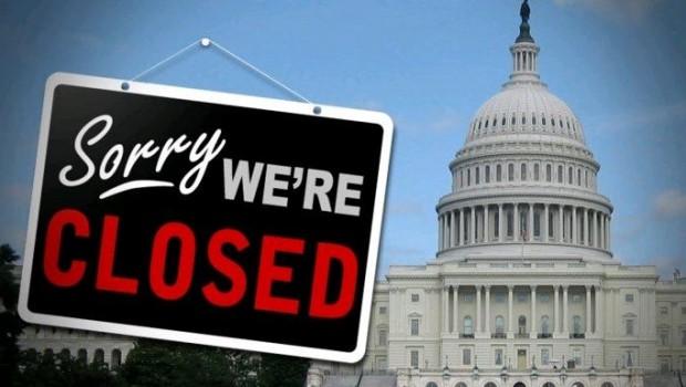 Resultado de imagen para foto de cierre de gobierno en usa