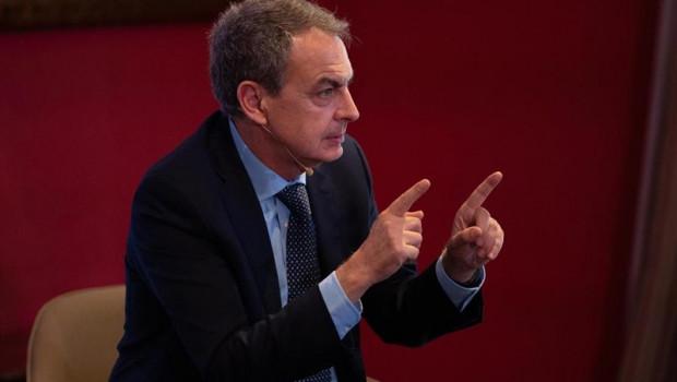 ep expresidentegobierno jose luis rodriguez zapatero duranteintervencionla presentancionlibrojamarch poderfuturo