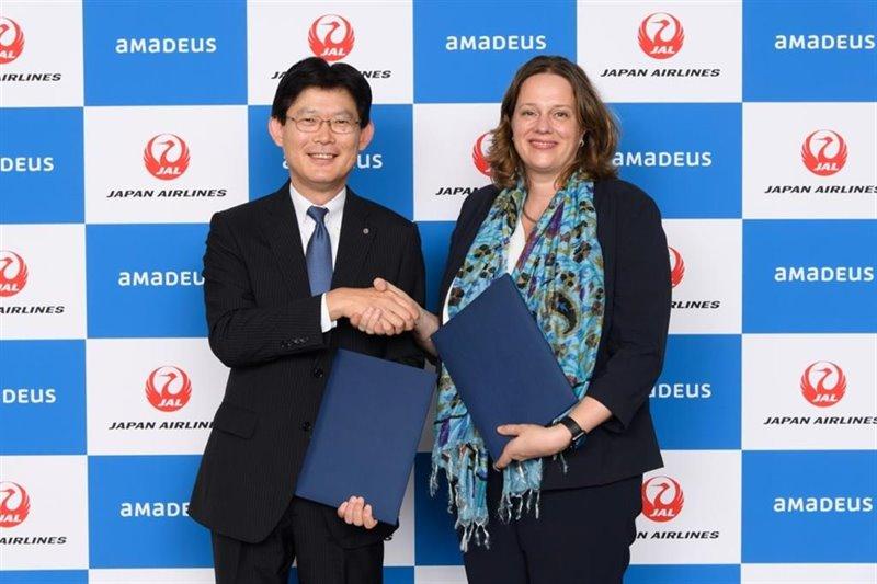 ep japan airlines y amadeus amplian su alianza