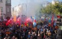 ep manifestacionlos trabajadoresla multinacional alcoaa coruna galicia