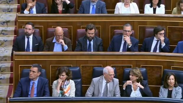 vox diputados sanchez congreso