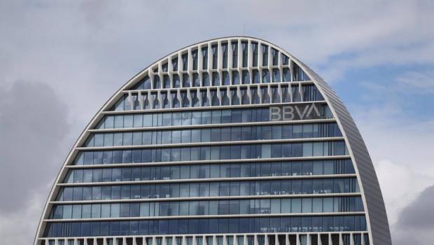 ep edificio de la sede de bbva en madrid conocido como la vela