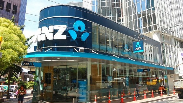 anz bank tower entrance lambton quay wellington 2015