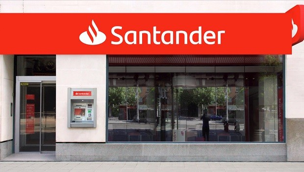 banco santander nueva imagen oficina