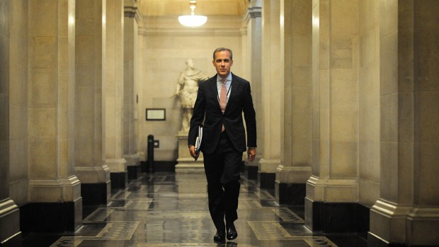 Bank of England BoE governor Mark Carney, banking, financial services