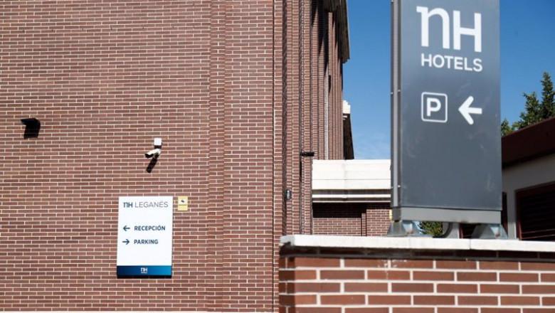 ep archivo - fachada del hotel nh leganes en leganes madrid espana