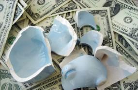 dinero hucha ahorros dolares