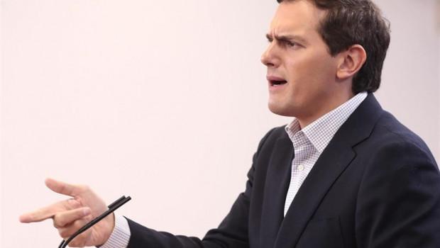 ep el presidente de ciudadanos albert rivera ofrece una rueda de prensa en el congreso de los