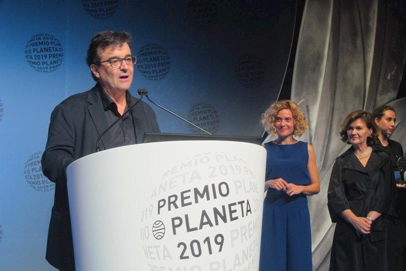 ep javier cercas ganador del premio planeta 2019