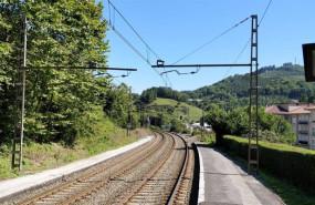 ep vias de tren en la red de cercanias de gipuzkoa
