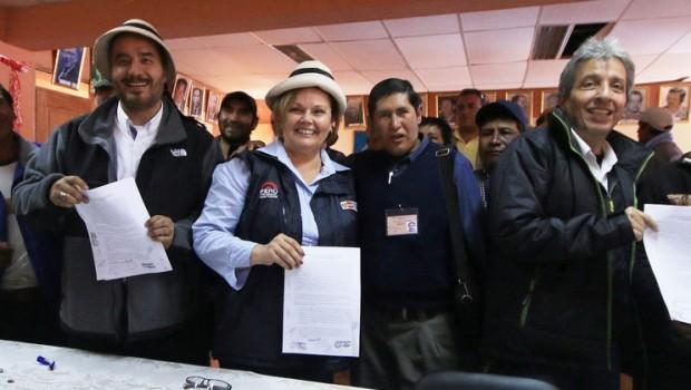 las bambas ministros mineria ambiente interior