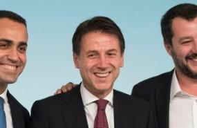 italia maio conte salvini portada