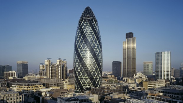 the gherkin, londres, rascacielos, edificio