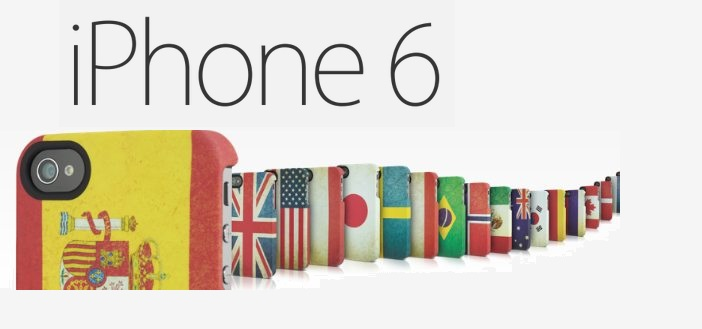 iphone 6 paises apple