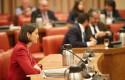 ep la ministra de industria comercio y turismo en funciones reyes maroto durante una reunion de la