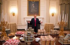 trump hamburguesas casa blanca