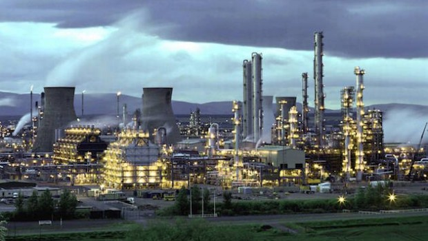 Ineos gas pipeline leak at Grangemouth, Scotland, access restricted