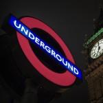 Night tube/underground, London