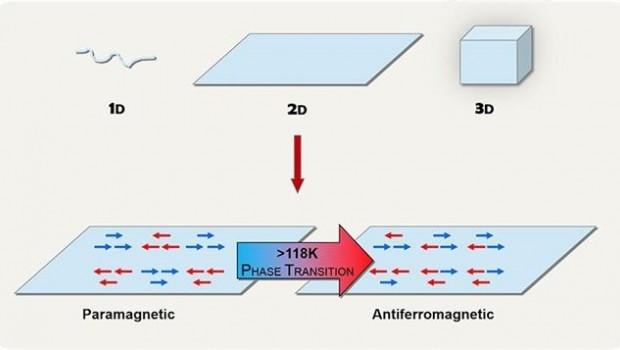 ep representacion simplificada trasicion fase magnetica 2d