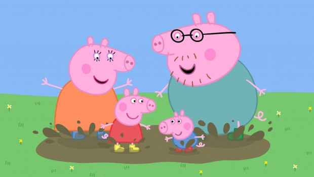 peppa pig entertainment one tv children cartoon