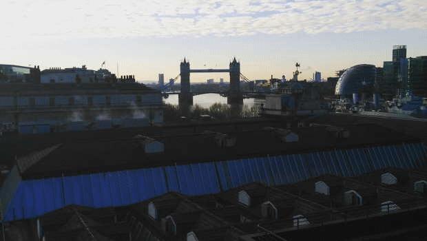 dl london tower bridge river thames grey day weather river thames