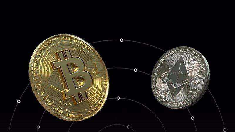 commercio bitcoin ether