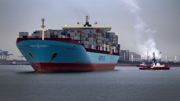 Maersk CEO Skou gives upbeat shipping forecast