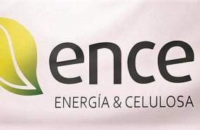 ep archivo - panel con el logo de ence